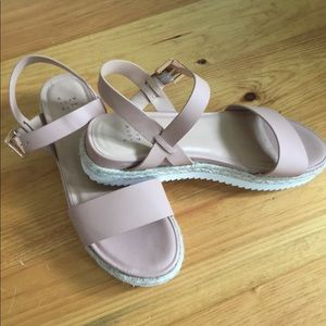A New Day Blush Sandals Size 12 💙